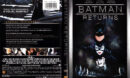BATMAN RETURNS (1992) R1 SE DVD COVER & LABELS