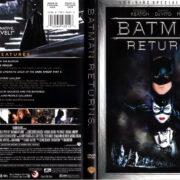 BATMAN RETURNS (1992) R1 SE DVD COVER & LABELS