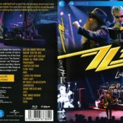 ZZ Top Live From Montreux  (2013) Blu-Ray Cover