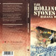 The Rolling Stones Havanna Moon (2016) Blu-Ray Cover