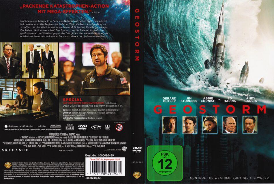 Geostorm 2017 R2 German Dvd Cover Dvdcover Com