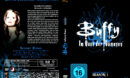 BUFFY IM BANN DER DAMONEN SEASON 1 (1996) R2 German DVD Cover & Labels