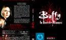 BUFFY IM BANN DER DAMONEN SEASON 2 (1997) R2 German DVD Cover & Labels