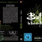BUFFY IM BANN DER DAMONEN SEASON 3 (1998) R2 German DVD Cover & Labels