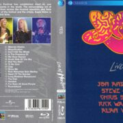 Yes Live At Montreux (2016) Blu-Ray Cover