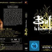 BUFFY IM BANN DER DAMONEN SEASON 5 (2000) R2 GERMAN DVD COVER & LABELS