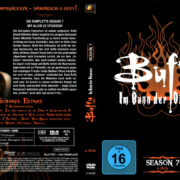 BUFFY IM BANN DER DAMONEN SEASON 7 (2002) R2 GERMAN DVD COVER & LABELS