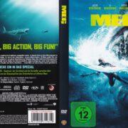 Meg (2018) R2 German DVD Cover
