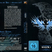 ANGEL JAGER DER FINSTERNIS SEASON 1 (1999) R2 GERMAN DVD COVER & LABELS