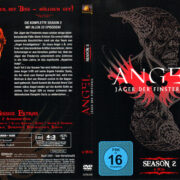 ANGEL JAGER DER FINSTERNIS SEASON 2 (2000) R2 GERMAN DVD COVER & LABELS