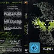ANGEL JAGER DER FINSTERNIS SEASON 3 (2001) R2 GERMAN DVD COVER & LABELS