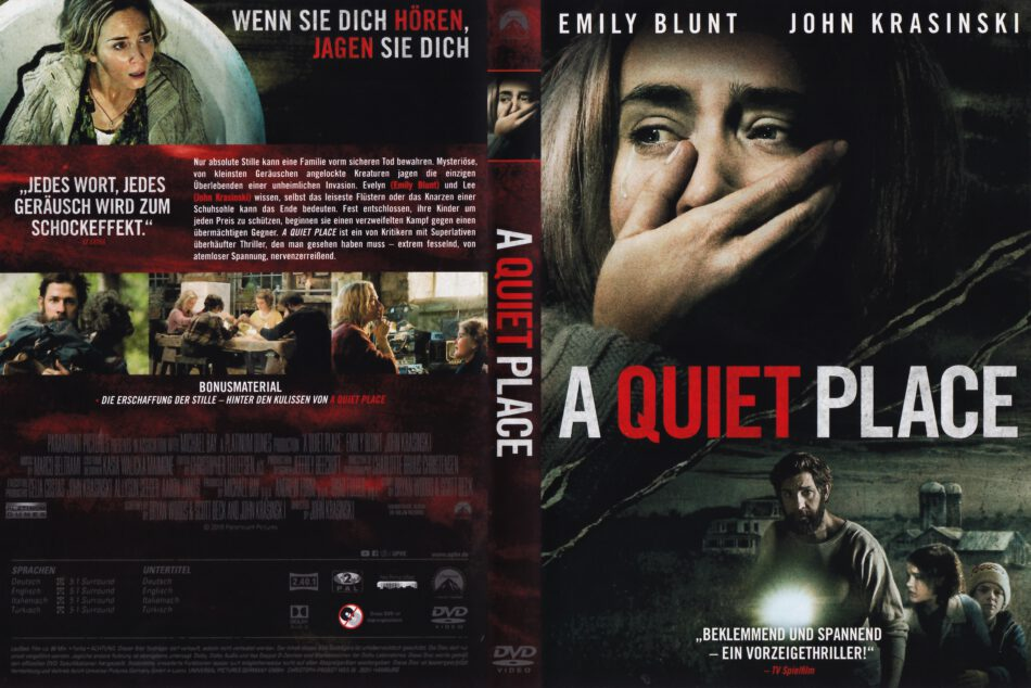 A Quiet Place 2018 R2 German Dvd Cover Dvdcover Com