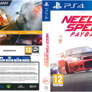 Need For Speed: Payback PAL PS4 Cover