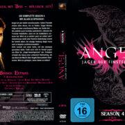 ANGEL JAGER DER FINSTERNIS SEASON 4 (2002) R2 GERMAN DVD COVER & LABELS