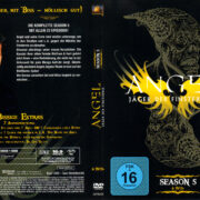 ANGEL JAGER DER FINSTERNIS SEASON 5 (2003) R2 GERMAN DVD COVER & LABELS