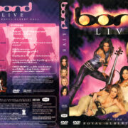 BOND LIVE AT THE ROYAL ALBERT HALL (2001) R1 DVD COVER & LABEL