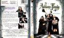 THE ADDAMS FAMILY (1991) R1 DVD COVER & LABEL