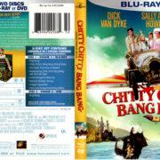 CHITTY CHITTY BANG BANG (1968) R1 BLU-RAY COVER & LABELS