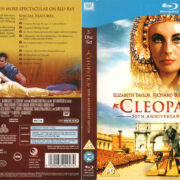 CLEOPATRA (1963) R2 BLU-RAY COVER & LABELS