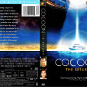 COCOON THE RETURN (1988) R1 DVD COVER & LABEL