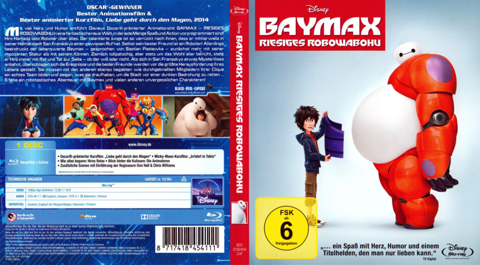 Baymax Deutsch
