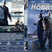 Fast And Furious Presents: Hobbs And Shaw (2019) R1 Custom DVD Cover & Label