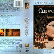 CLEOPATRA FIVE STAR COLLECTION (1963) R1 DVD COVER & LABELS