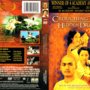 CROUCHING TIGER HIDDEN DRAGON (2000) R1 DVD COVER & LABEL