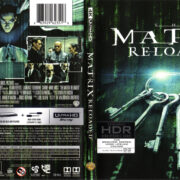 Matrix Reloaded (2003) R1 4K UHD Cover