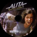Alita: Battle Angel (2019) R1 4K UHD Label