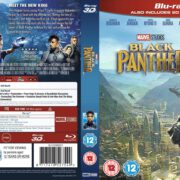 Black Panther 3D (2018) R2 Blu-Ray Cover