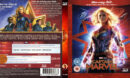 Captain Marvel 3D (2019) R2 German Blu-Ray Cover