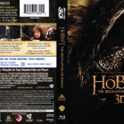The Hobbit: The Desolation Of Smaug 3D (2014) R1 Blu-Ray Cover