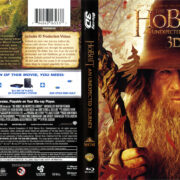 The Hobbit: An Unexpected Journey 3D (2012) R1 Blu-Ray Cover