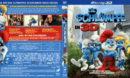 Die Schlümpfe 3D (2011) R2 German Blu-Ray Cover
