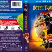Hotel Transylvania 2 3D (2015) R1 Blu-Ray Cover