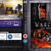 Warcraft: The Beginning 3D (2016) R2 Blu-Ray Cover & Labels