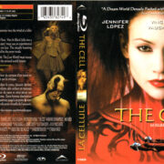 THE CELL (2000) R1 BLU-RAY COVER & LABEL