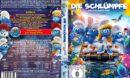 Die Schlümpfe - Das Verlorene Dorf (2017) R2 german DVD Cover