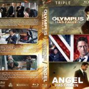 Olympus…London…Angel has Fallen Triple Feature R1 Custom Blu-Ray Cover