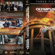 Olympus…London…Angel has Fallen Triple Feature R1 Custom Blu-Ray Cover V2