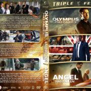 Olympus…London…Angel has Fallen Triple Feature R1 Custom DVD Cover