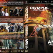 Olympus…London…Angel has Fallen Triple Feature R1 Custom DVD Cover V2