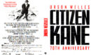 CITIZEN KANE 70TH ANNIVERSARY (1941) R1 BLU-RAY COVER & LABELS