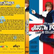 Austin Powers Trilogy R1 Custom DVD Cover