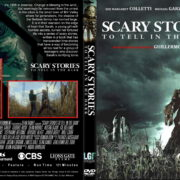 Scary Stories To Tell In The Dark (2019) R1 Custom DVD Cover & Label