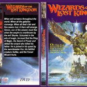 Wizards Of The Lost Kingdom (1985) R0 Custom DVD Cover & Label