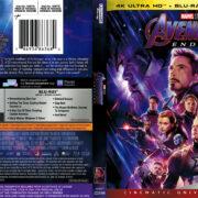 Avengers: Endgame (2019) R1 4K UHD Cover