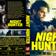 Night Hunter (2019) R1 Custom DVD Cover & Label