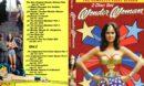 Wonder Woman Season 1 R0 Custom DVD Cover & Labels